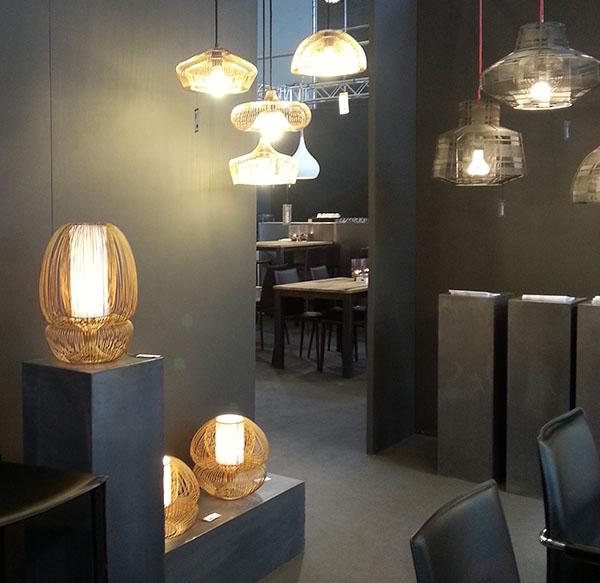 Impressionen von der maison et objet 2014 in paris for Lampen kupfer